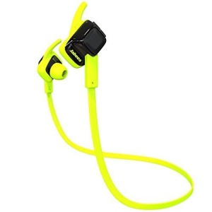 JABEES BEATING Bluetooth V4.1 Wireless Sweatproof Sports Stereo Headphone with Mic - Green