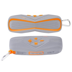 HOCO BS3 IPX7 Waterproof Outdoor Sports Wireless Bluetooth Speaker Support TF Card/AUX-in - Orange