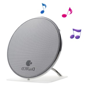 COTEETCI Gyro Style Bluetooth 4.1 Stereo Hands-free Speaker for iPhone Samsung - White