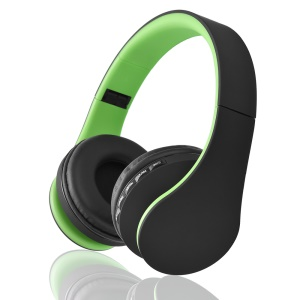 BTH-811 4 in 1 Multifunctional Wireless Stereo Bluetooth 3.0 + EDR Headphone - Green