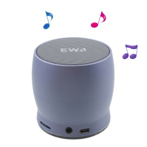 EWA A150 Mini Wireless Bluetooth 4.0 HiFi Speaker with Mic TF Card Slot AUX-in - Blue