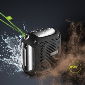 MORUL H3 Outdoor IPX6 Waterproof Bluetooth Speaker Shockproof & Dustproof with Mic