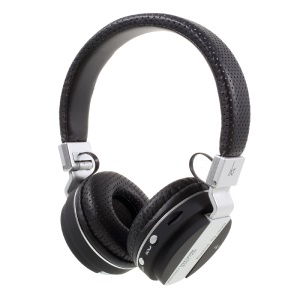 JKR-209B Folding Wireless Bluetooth Over-ear Headphone Headset with Mic Support FM/TF Card - Black / Grey