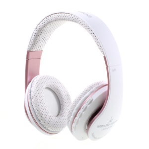 JKR-211B Stretchable Wireless Bluetooth Stereo Over-ear Headphone with Mic Support FM/TF Card
