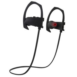 JHO Q10 Bluetooth Sports Stereo Ear-hook Headset with Microphone - Black