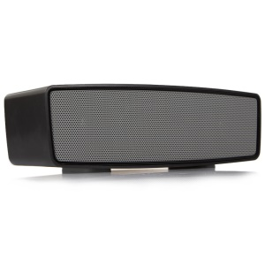 Mini Wireless Bluetooth Speaker with Mic Support TF Card/AUX-in - Black