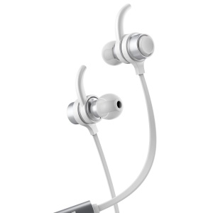 BASEUS B16 Comma Bluetooth 4.1 In-ear IPX4 Waterpoof Ear-Hook Earphone with Mic for iPhone Samsung etc - White