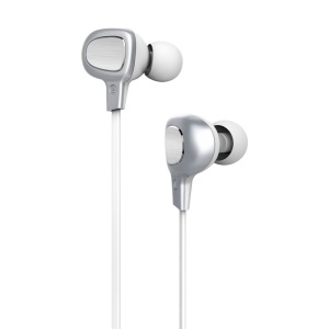 BASEUS B15 Seal In-ear Bluetooth 4.1 Stereo IPX4 Waterproof Earphone with Mic for iPhone Samsung etc - White
