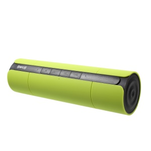 JKR-8800A NFC Dual Horn Bluetooth Speaker, Support USB/TF/Aux/Radio - Green