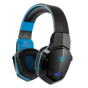 KOTION EACH B3505 Bluetooth 4.1 Stereo Gaming Headphone Hands-free Headset with Mic - Black / Blue
