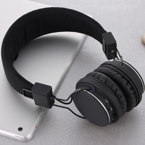 ROMIX X1 Wireless Bluetooth Headphone Headset with Microphone - Black