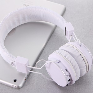 ROMIX X1 Wireless Bluetooth Headset Headphone with Microphone - White