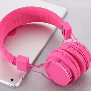 ROMIX X1 Bluetooth Wireless Headphone Headset with Microphone - Rose