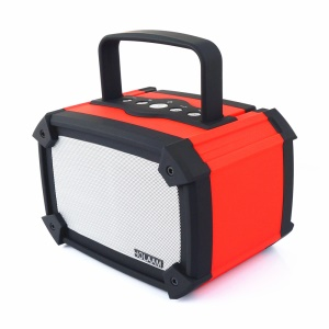 MA-960-B2 Mega Bass Wireless Bluetooth 3.0 Speaker with Mic, Support SD Card / AUX / U Disk - Red