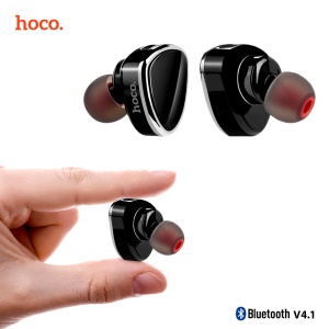 HOCO E7 Mini Wireless Bluetooth Earbud Earphone with Microphone - Black