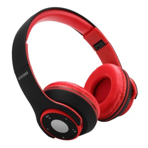 OHYEAH OY5 Bluetooth Headset Headphone with Microphone Support FM Radio, Micro SD Player - Black