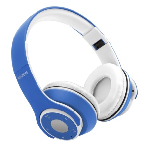 OHYEAH OY5 Wireless Bluetooth Headset Headphone with Microphone Support FM Radio, Micro SD Player - Blue