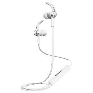 BASEUS B11 Licolor Magnet Bluetooth Earhook Headset for iPhone Samsung Etc. - Silver Colory White