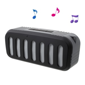NEWRIXING NR-2013 Outdoor Bluetooth Speaker, Support Aux-in/FM Radio/TF Card etc - Black