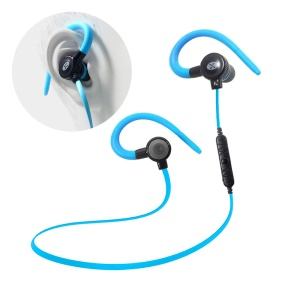 VORSON Magnetic Bluetooth Stereo Headset Sport Earphone with Mic (VE-001) - Blue