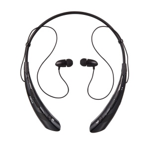 YINENN HBS-760 Anime Bluetooth 4.0 HiFi Headphone With Neckband / Mic (Japanese Version) - Black