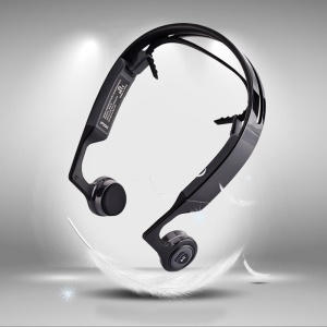 DIGICARE Mix 8 Bluetooth 4.1 Bone Conduction Stereo Headphone Open-ear with Mic Remote Control