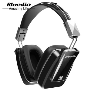 BLUEDIO F800 Foldable Noise-Canceling Over-ear Bluetooth Headset Headphone with Mic