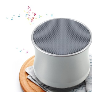 KS-01 Mini Bluetooth Speaker Support Hands-free Phone Calls and TF Card - Silver