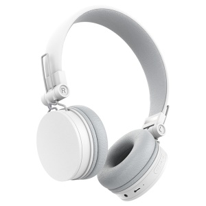 ROCK HB10 Bluetooth 4.0 Headphone Stereo Hands-free Earphone with Mic/3.5mm Jack for iPhone Samsung Etc - White