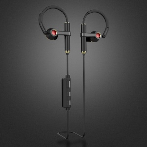 JOYROOM Q50 Bluetooth 4.0 In-ear Stereo Earphone with Ear Hook for iPhone Samsung Huawei Etc - Black