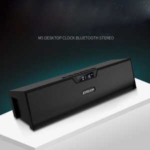 JOYROOM M5 Wireless Bluetooth Speaker Desktop Clock Support Hands-free Call/TF Card/AUX-in
