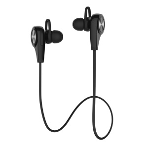 DEVIA Swift Sport Bluetooth 4.1 Bevel In-ear Earphone for iPhone iPad Samsung etc - Black