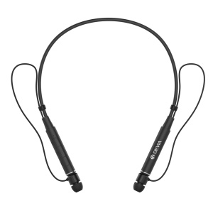 DEVIA Schuck Sport Bluetooth Headset HD Stereo Wireless Neckband In-ear Magnetic Earphone - Black