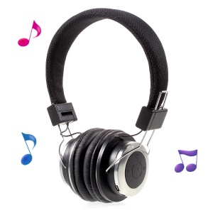 MEZONE HF720 Wireless Bluetooth 4.1 Stereo Headset Built-in Mic for iPhone 7 etc. - Black