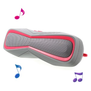 COOYA IPX7 Waterproof Bluetooth Speaker Wireless Stereo Outdoor Speaker Support TF Card / Aux-in - Rose