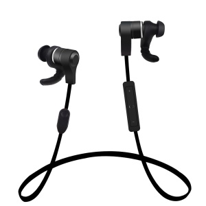 H3 Bluetooth Sports Headset Magnet Attraction Hands-free Headphone - Black