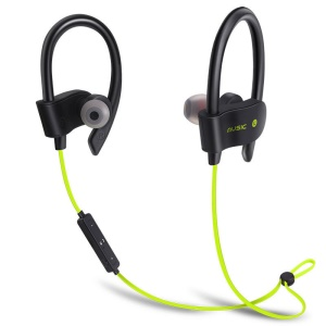 Bluetooth V4.1 Stereo Headphone Earhook Hands-free Headset (BTH-H5) - Green
