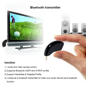 TX80 Portable 3,5 mm Mini-Bluetooth-Audio-Sender Stereo-Adapter Bluetooth-Dongle