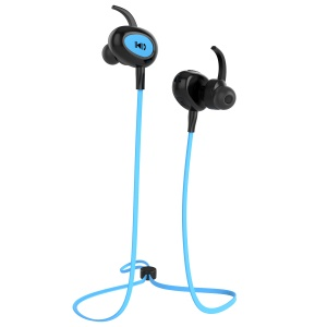 FOZENTO FT6 Noise Isolating Sports Wireless Bluetooth 4.2 Headphone for iPhone 7, Samsung S8 etc. - Blue