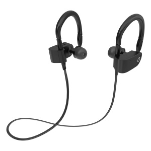 FOZENTO Sports Bluetooth Headset In-ear Stereo Headphone with Mic - Black