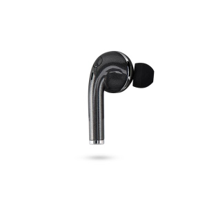Mini Bluetooth 4.1 Earphone Invisible Stereo Single Headphone with Mic for Samsung S8 etc. - Black