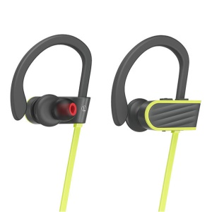 HOCO ES7 Sport Wireless Bluetooth 4.1 Headphone with Ear Hooks for Samsung S8 - Green