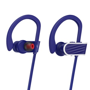 HOCO ES7 Fitness Sport Wireless Bluetooth Headphone Headset with Hands-free Mic for Samsung S8 - Blue