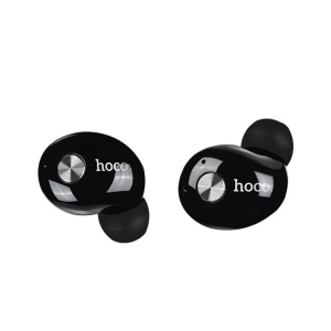 HOCO ES10 Mini Wireless Earpiece Bluetooth 4.2 Earbuds Earphone with Microphone - Black