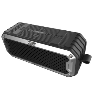 ZEALOT S6 Portable Wireless Bluetooth Speaker Power Bank with Built-in 4000mAh Battery - Black