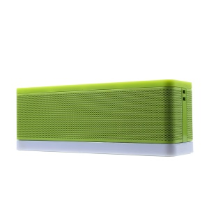 DEXIM DEA059 Soundex Portable Stereo Bluetooth Speaker with Mic / AUX-in for iPhone Samsung Huawei Etc - Green