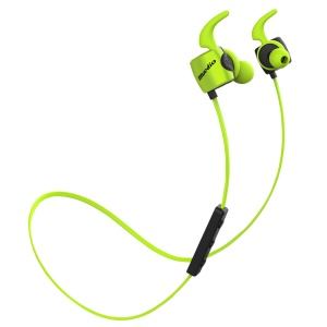 BLUEDIO TE Sports Wireless Bluetooth 4.1 In-ear Earphones with Remote Control and Mic - Green
