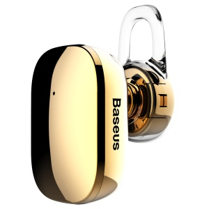 BASEUS Encok A02 Plating Single Mini Bluetooth 4.1 Stereo Earphone - Gold Color