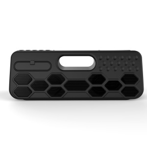 ZF-502 40W TWS Bluetooth Speaker IP55 Splash-proof Portable Outdoor Speaker 8800mAh Power Bank - Black