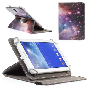 Nebula Universal Rotary Stand Leather Cover for Amazon Fire HD 7 / Samsung Galaxy Tab 4 7.0 T230, Size: 21.5 x 15.5cm